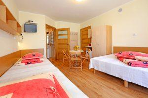 Pokój 4-osobowy na piętrze